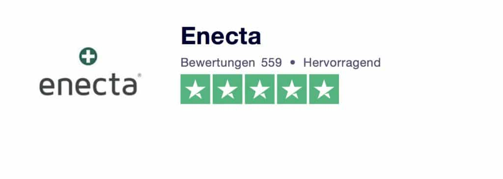 Enecta Bewertungen bei Trusted Shops